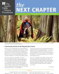 The Next Chapter newsletter Summer 2018